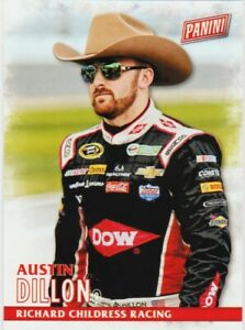 AUSTIN DILLON 2016 PANINI BLACK FRIDAY CARD # 35 NASCAR RICHARD CHILDRESS RACING
