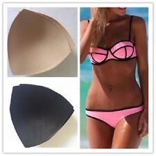 Triangle sponge padding inserts bra pads removable bikini enhancers Bra Pad