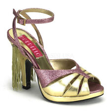 Strappy, Ankle Straps Block 70s Heels for Women
