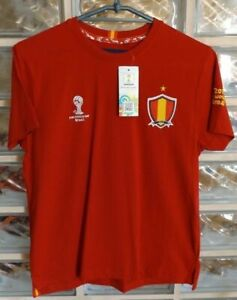 BNWT SPAIN Football Shirt Soccer Jersey 2014 WORLD CUP Brazil Official Fan Merch
