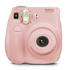 New Sealed Fujifilm Instax Mini 7s Instant Film Camera Light Pink Bonus 10 Films