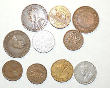 Canada Cent  1907-1943 Group of 10 (10871)