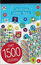 Christmas Mega Sticker Book Over 1500 Stickers Kids Creative Fun Activity Crafts
