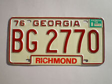 AUTHENTIC 1979 GEORGIA LICENSE PLATE
