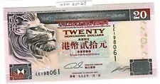 HONG KONG Billet 20 DOLLARS 1995  P201-b1 HSBC LION SHANGAI BANKING NEUF UNC