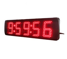 5'' Character High LED Countdown Count Up Timer With Remote For Sport Timing Use