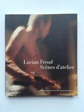 """"""" Lucian FREUD : scènes d'atelier """" Thames & Hudson, PHOTOS de Bernard et Dawson"""