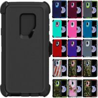 For Samsung Galaxy S9 Plus + Case Cover(Belt Clip Fits Otterbox Defender Series)