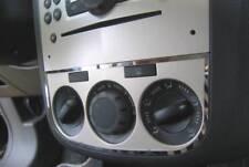 D Opel Corsa D Chrom Rahmen für Gebläseschalter -  Edelstahl poliert