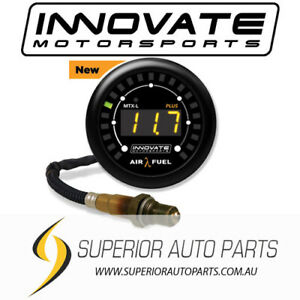 Innovate Motorsports MTX-L PLUS Wideband O2 Air Fuel Ratio Gauge Kit AFR - 3918
