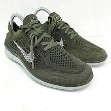 Nike Free RN FlyKnit 2018 Cargo Khaki Running Shoes 942838-300 Men's Size 13