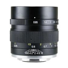 New Version Zhongyi MITAKON II Speedmaster 35mm f/0.95 to EOS M M1 M2 M3 camera
