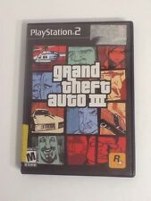 Playstation 2 PS2 Grand Theft Auto 3 With Manual, Map, Case, And Game