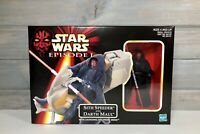 Star Wars Episode 1 Sith Speeder and Darth Maul w/Launching Probe Droid, NIB
