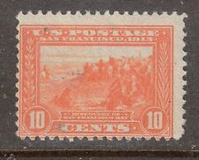 Scott #400a Mint Single, Ten Cent 1913 Panama-Pacific Expo. Perf. 12
