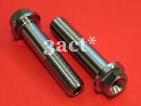 M12 x 55mm 2 pcs DUCATI 748 916 998 996 Hub Pinch Hollow Titanium / Ti Bolt