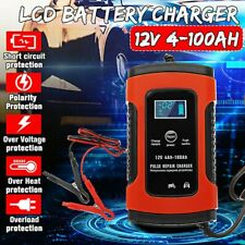 Cargador de batería inteligente 12V 100Ah Battery Conservation Car Aut EU