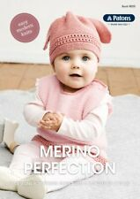 Patons Pattern Book #8025 Merino Perfection 6 Designs for 3 months to 4 years