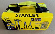 STANLEY 38 Piece Hand Tool Set w/ Case Mechanics Household DIY New in Box FS