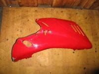 Verkleidung unten rechts / right bottom fairing cowl / Ducati 750 ss ie-V2