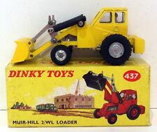 Vintage Dinky 437 - Muir-Hill 2/WL Loader - Yellow