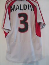 2001-2002 AC Milan Maldini Away Football Shirt Large Adult (40658)