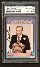 Carl Reiner 1991 Hollywood Walk of Fame signed autograph auto PSA/DNA Slabbed
