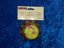 CELEBRATE IT PINK YELLOW BUTTERFLY BAKING CUPS CUPCAKE LINERS 75 COUNT! NEW!!!!!