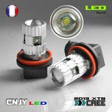 2 AMPOULE CNJY LED H8 CREE XTB 25W 5000K BLANC PURE 12V ANTI BROUILLARD FOGLIGHT