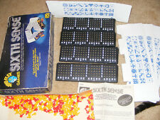 Sixth Sense Game Challenges Intelligemce and Power of Deduction 1978