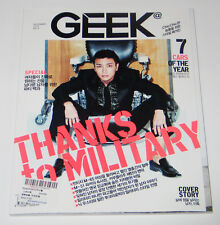 GEEK Magazine Korea December [Super Junior LEETEUK]