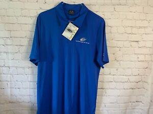 Michael Waltrip Racing Oakley Men's Polo Shirt Size XL