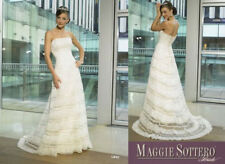maggie sotterro clothing libby wedding dress beaded lace detail A-line