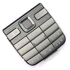 100% Original Nokia E52 Keypad Silber Grau Tastatur Numeric Tasten Keys Metallic