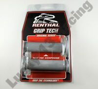 Renthal Handlebar grips G147 light grey Soft compound road race grips