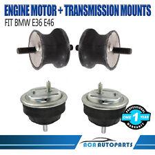 ENGINE/MOTOR AND TRANSMISSION MOUNT Fits BMW E36 E46 Z4 320i 323Ci 325i SET OF 4