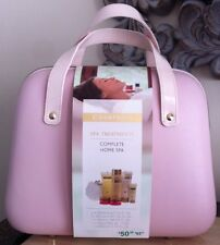 Champneys Complete Home Spa Bath and Bodycare Kit In A Vanity Case - BNWT