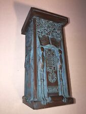 Rare Collectible Ancient Square Egyptian Style Monument standalone Candle Holder