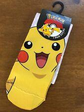Primark Pikachu Socken 1 Paar Pokemon Socke Einheitsgröße Gr. 37 - 42  Sneaker