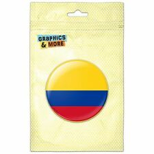 Colombia National Country Flag Pinback Button Pin Badge