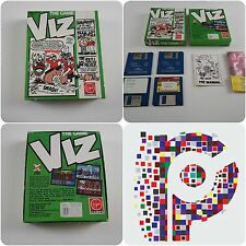 Viz The Game + Sealed Whoo Pee Cushion A Virgin Game for the Amiga