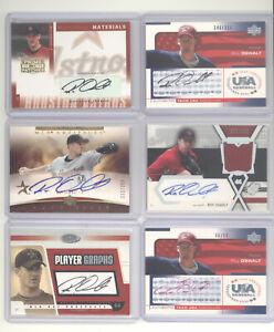 Roy Oswalt auto autograph 10 card lot Houston Astros Team USA baseball