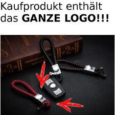 Leder Schlüsselanhänger für BMW 3er X5 X6 X3 M3 1er Z3 M5 M6 Rot Red
