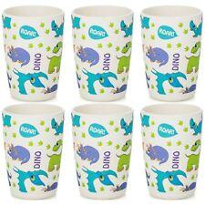 6x Children's Bamboo Fibre Juice Cup - Dinosaur