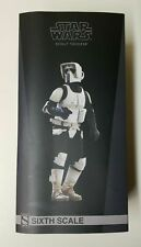 """Sideshow Collectibles Star Wars Scout Trooper 1/6 Scale 12"""" Figure"""