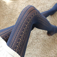 Fashion Sexy Lace Fishnet Pattern jacquard Stockings Pantyhose Tights Hollow Hot
