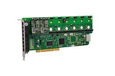 OpenVox A800P20 8 Port Analog PCI Base card + 2 FXS + 0 FXO, Ethernet (RJ45)