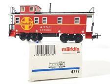 MARKLIN 4777 HO GAUGE 3 RAIL -  AMERICAN, ATSF SANTA FE LIVERY CABOOSE No.999005