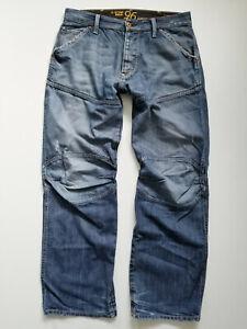 G-Star Elwood Heritage Loose W34/L34 34 34 32 ? Herren Cargo Jeans Hose RAR 5620