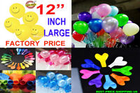 "100 Pcs Birthday Wedding Party Decor Latex Balloons U pick Color 12"" Thick Float"
